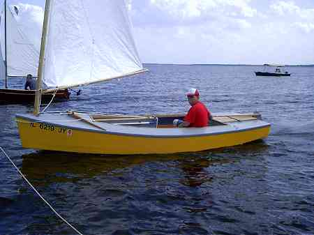 Build Small Wooden Sailboat 1